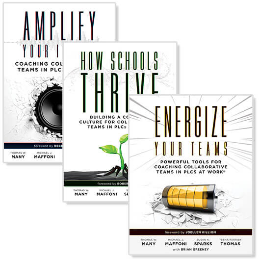 Amplify, How Schools Thrive, and Energize Your Team (3 books)