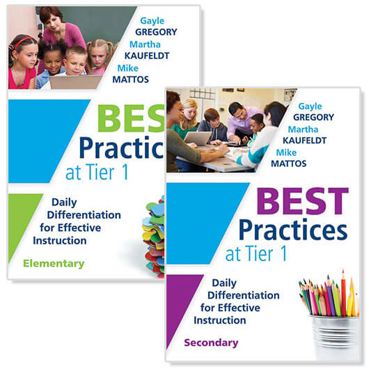 Best Practices at Tier 1 Elementary, Best Practices at Tier 1 Secondary