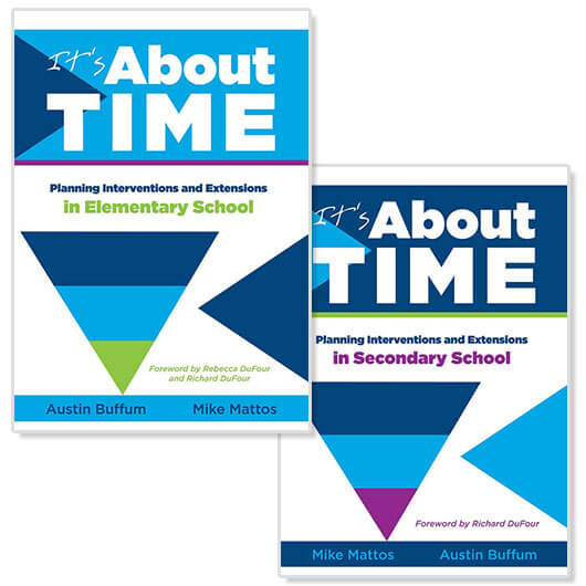It's About Time Elementary and Secondary