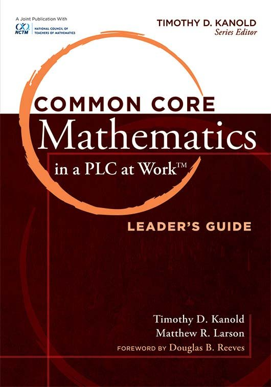 Common Core Math Leaders Guide