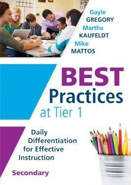 Best Practices at Tier 1