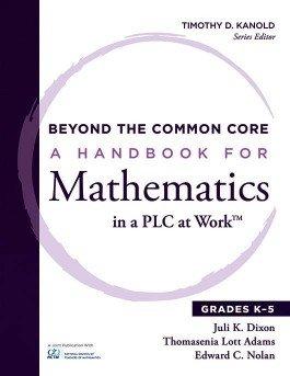 A Handbook for Mathematics in a PLC at Work™, Grades K–5
