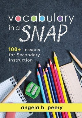Vocabulary in a SNAP, Secondary