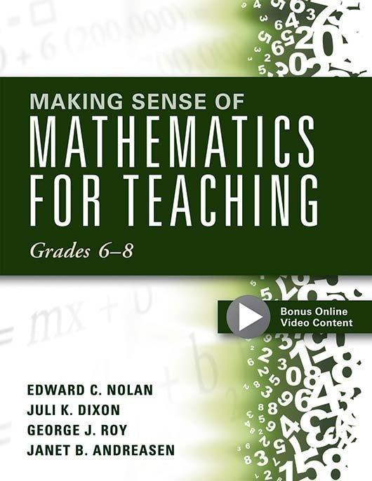 Making Sense of Mathematics for Teaching Grades 6–8