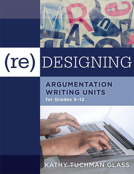 Redesigning Argumentation Writing Units