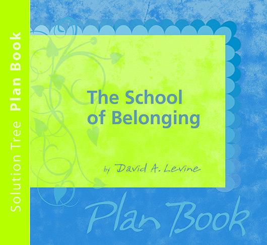 The School of Belonging Plan Book