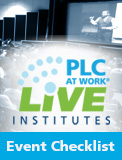 PLC at Work LIVE Institutes Playbook