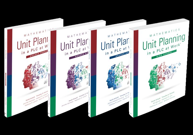 Mathematics at Work Unit Planning Series